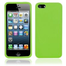 SILICONE CASE FOR IPHONE 5 /5s GREEN